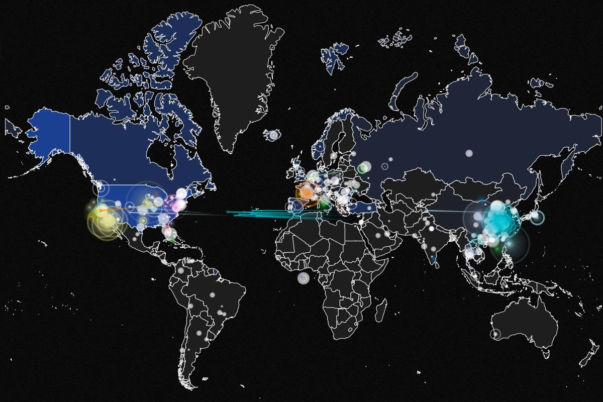 Watch the World Get Hacked In Real Time